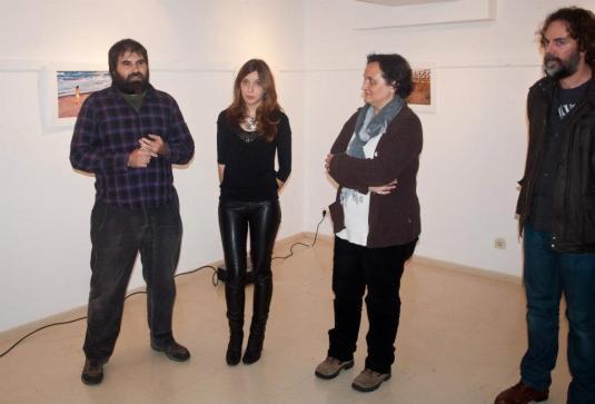 -Intervenció de Xavi Ròdenas, Alba Escrivà i Rosa Mascarell.